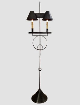 Nana's Farmhouse Keystone Floor Lamp