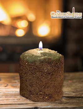 The Candlesmiths Cabin In The Woods Pillar Candle