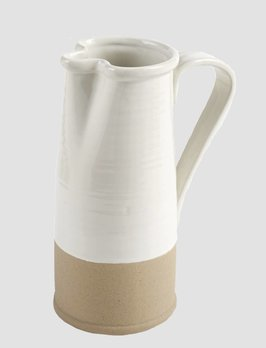 Mud Pie Pour Stoneware Pitcher
