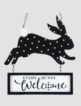 K & K Interiors Easter Bunny WELCOME Arrow Replacement