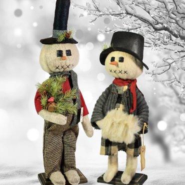 Snow Folks Snowman