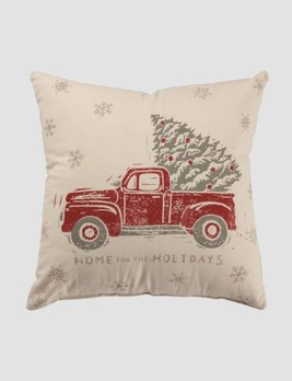 Nana's Farmhouse Home for the Holidays Pillow