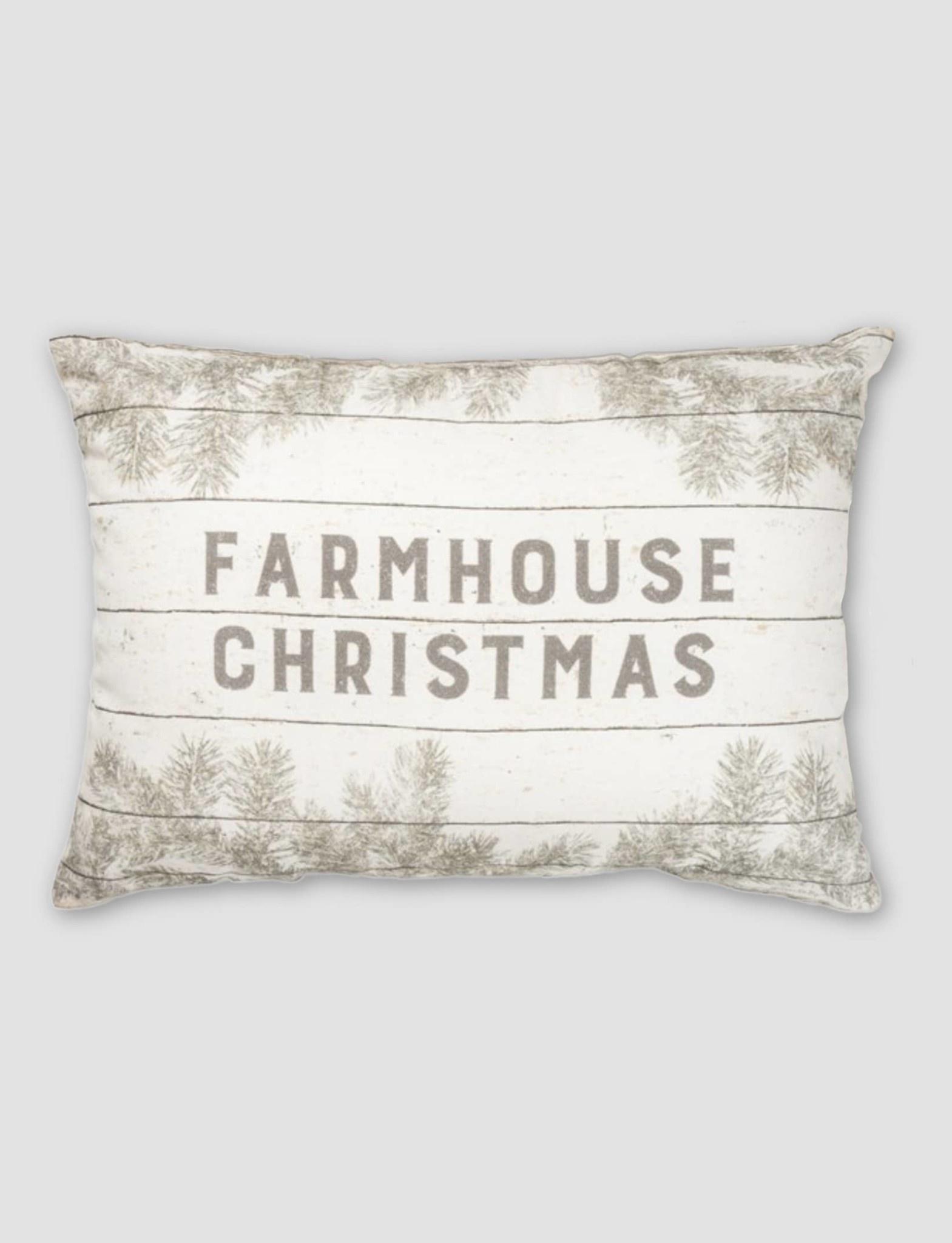 Nana's Farmhouse Farmhouse Christmas Pillow