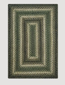 Homespice Decor Pinecone Jute Braided Rugs