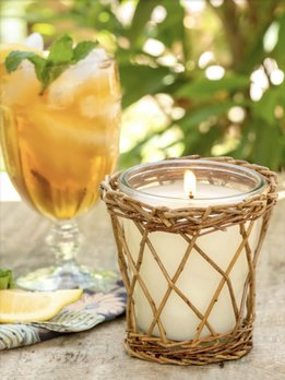 Park Hill Collection Sweet Tea Willow Candle