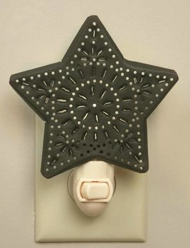 CTW Home Collection Punched Star Night Light