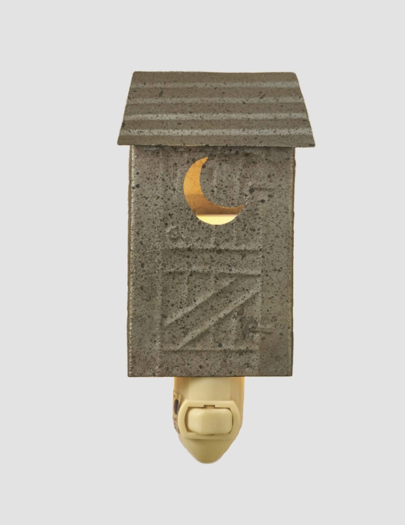 """Park Designs Outhouse Night Light 6"""" H x 3"""" w"""