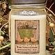 Herbal Star Candles Warm Vanilla Custard Soy Jar Candle 16oz