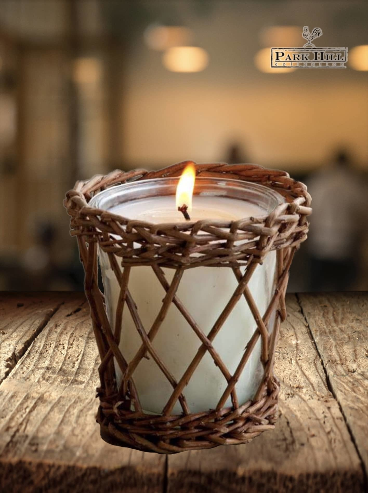 Park Hill Collection Peach Orchard Willow Candle
