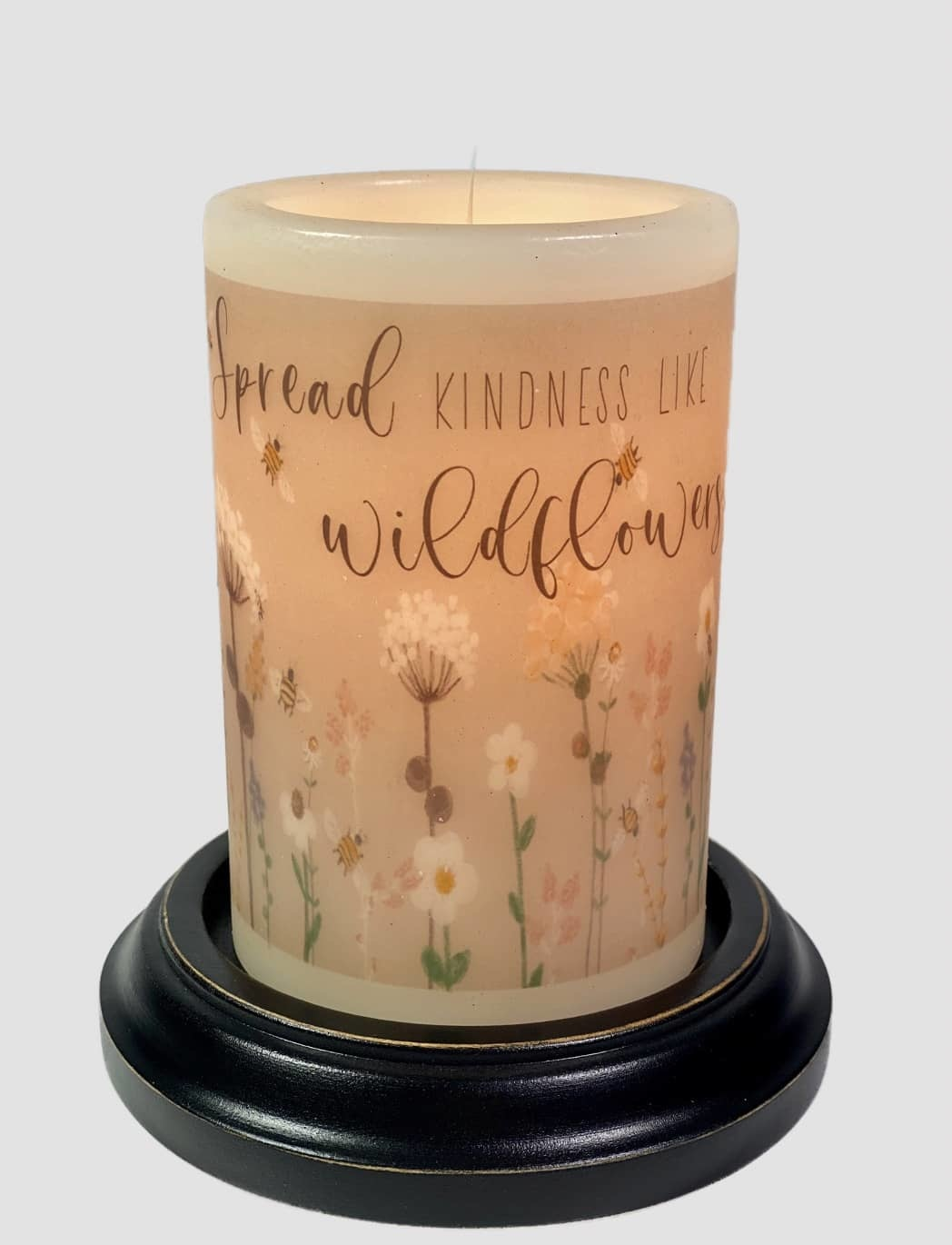 C R Designs Spread Kindness Candle Sleeve