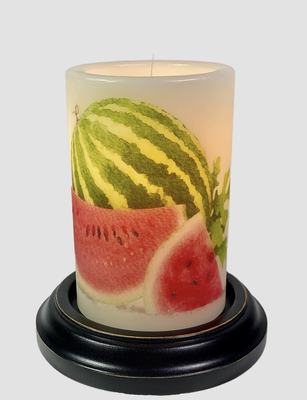 C R Designs Sweet Watermelon Candle Sleeve