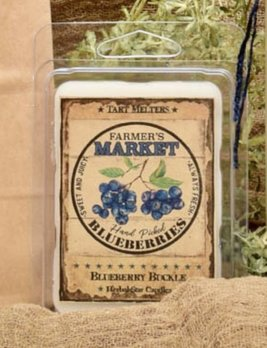 Herbal Star Candles Blueberry Buckle Mini Pack of Tarts
