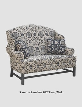"""Town & Country Furnishings Vermont Settle - 60"""""""