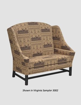 """Town & Country Furnishings Cape Cod Settle - 54"""""""