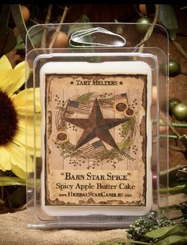 Herbal Star Candles Barn Star Spice Mini Pack of Tarts