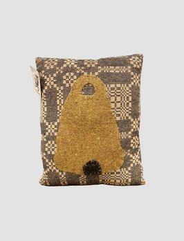 Nana's Farmhouse Bee Skep Handmade Primitive Pillow