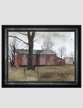 Billy Jacobs Americana Barn Print by Billy Jacobs