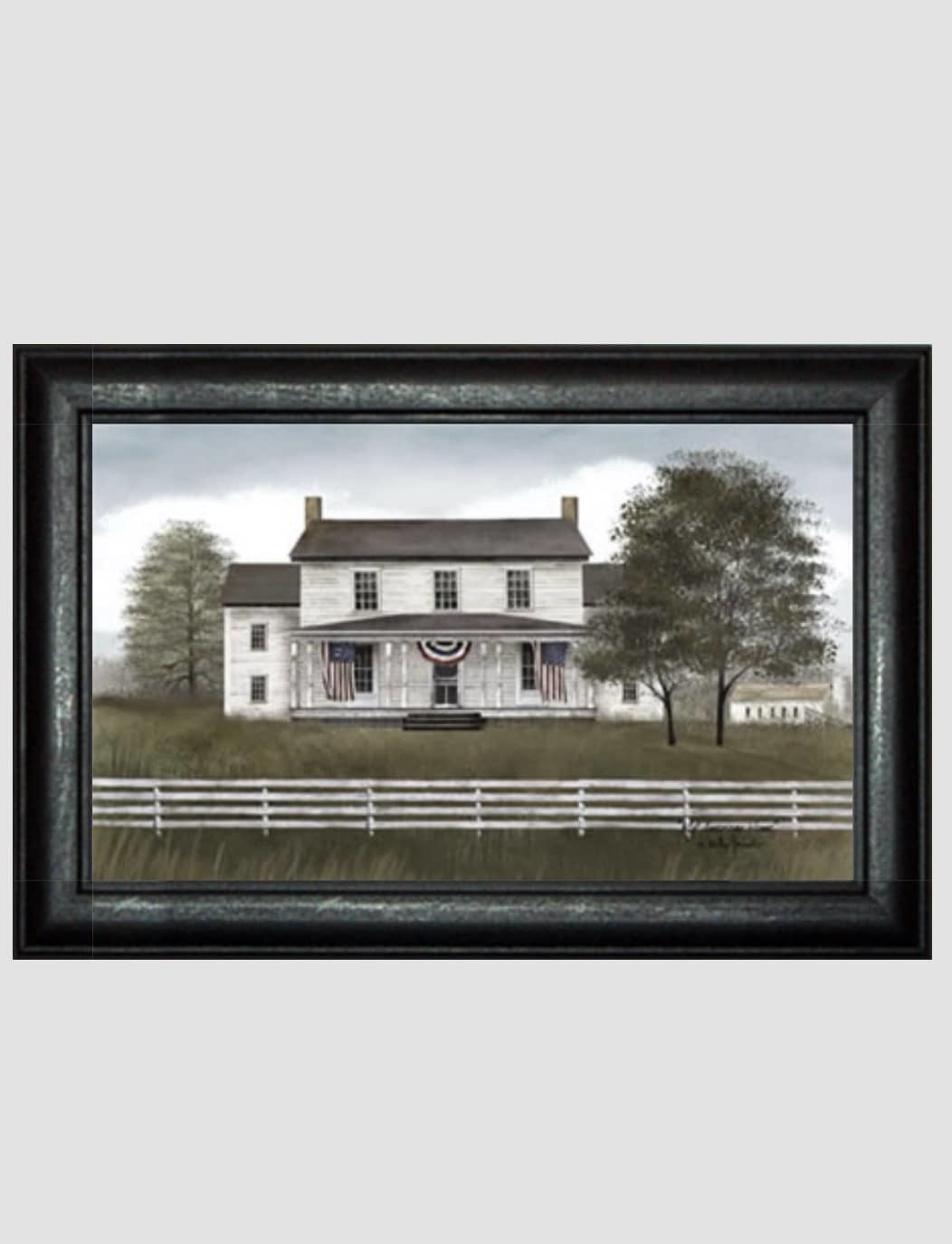 Billy Jacobs Billy Jacobs My American Home Print