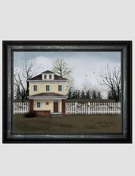 Billy Jacobs White Picket Fence by Billy Jacobs