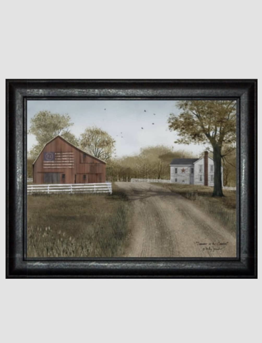 Billy Jacobs Summer In The Country Print by Billy Jacobs