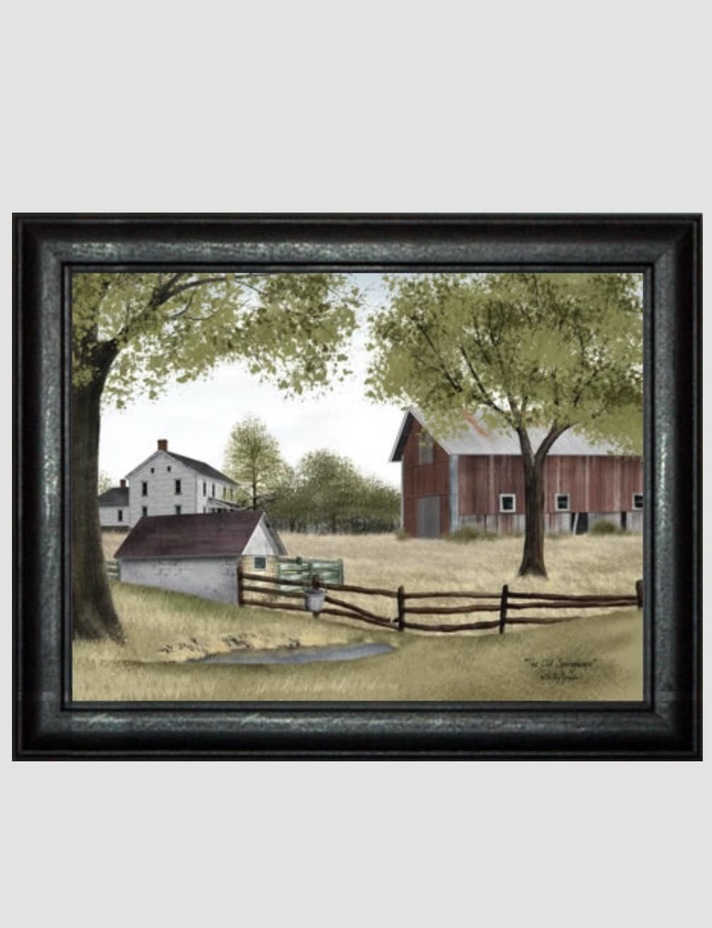 Billy Jacobs The Old Spring House Print by Billy Jacobs