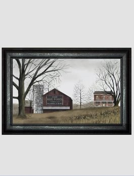 Billy Jacobs Mail Pouch Barn Print by Billy Jacobs