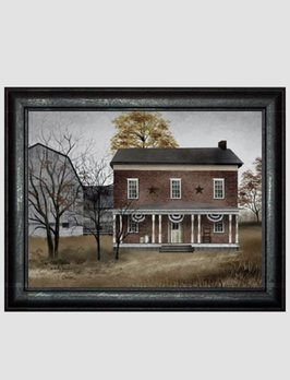 Billy Jacobs The Old Tavern House Print by Billy Jacobs