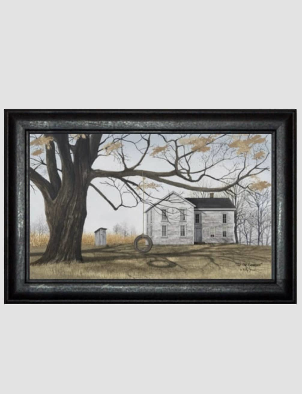 Billy Jacobs The Old Farmhouse Print by Billy Jacobs