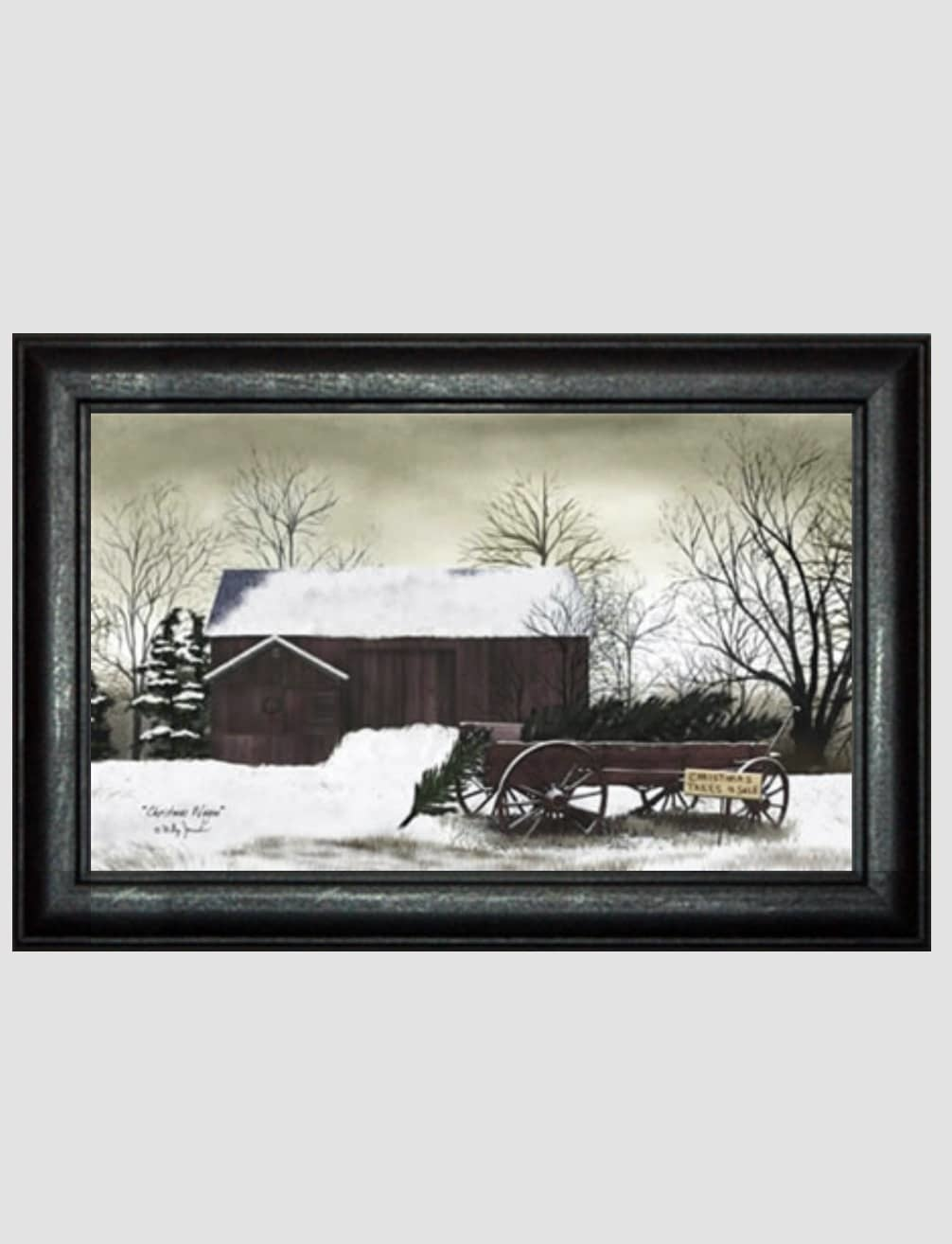 Billy Jacobs Christmas Wagon Print by Billy Jacobs