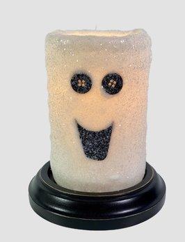 C R Designs Boo Ghost Candle Sleeve - Gumdrop