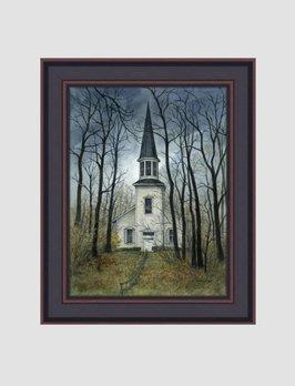 Bonnie Fisher North Church by Bonnie Fisher