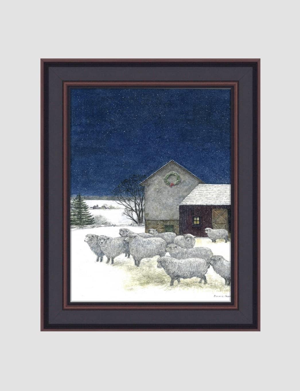"Bonnie Fisher Silent Night by Bonnie Fisher - 16"" x 12"""