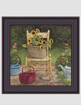 Bonnie Fisher Yellow Chair by Bonnie Fisher