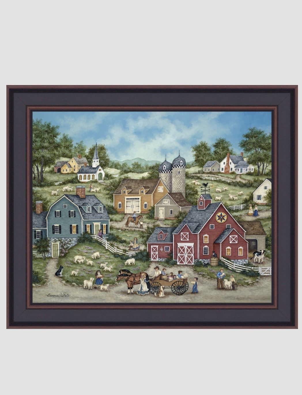"""Bonnie White Counting Sheep by Bonnie White - 16"""" x 20"""""""
