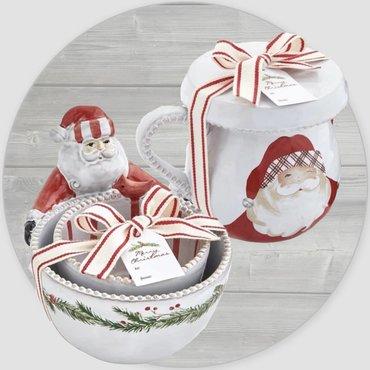 Santas & Snowmen Decor