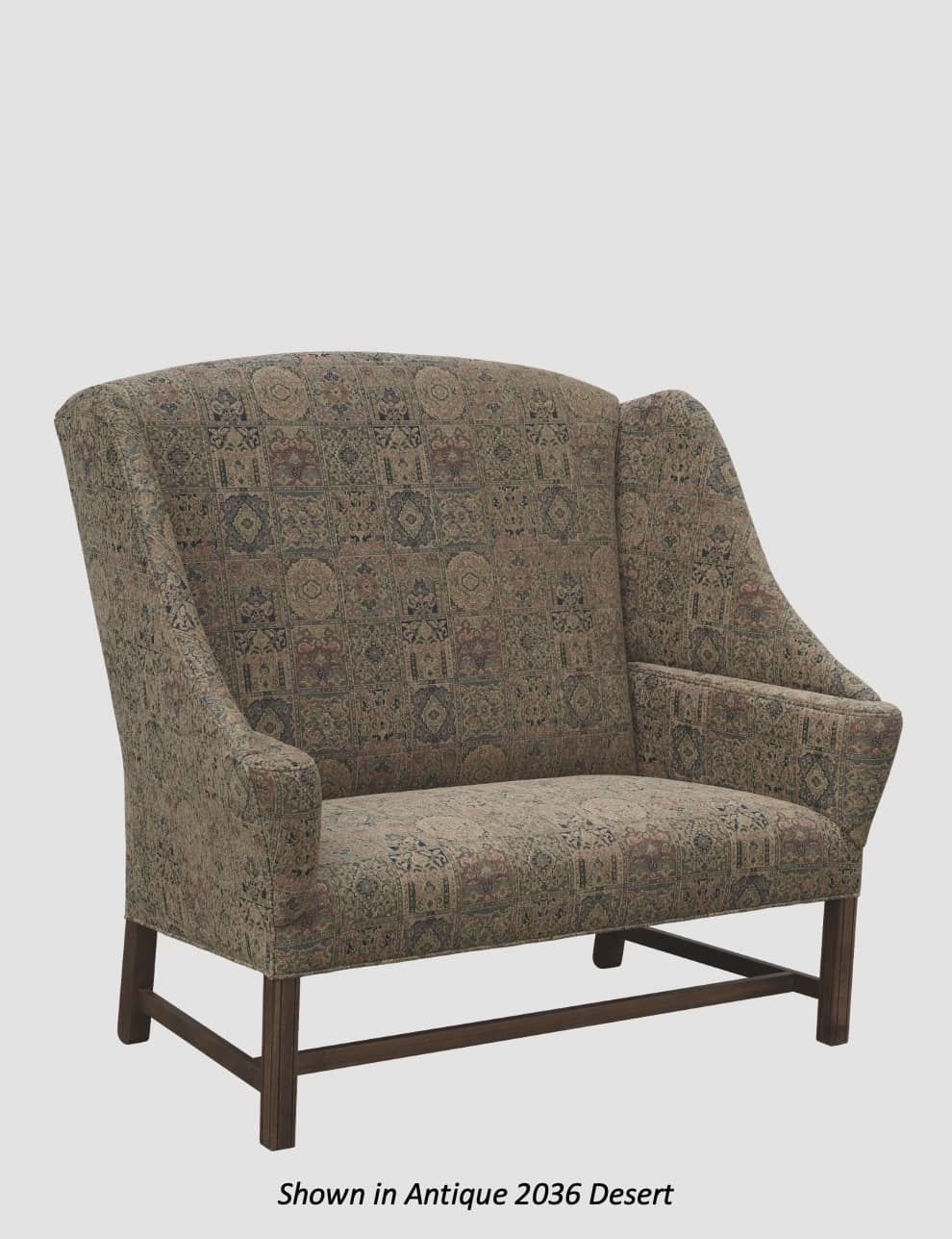 Town & Country Furnishings Millers Creek Settle from the American Country Collection