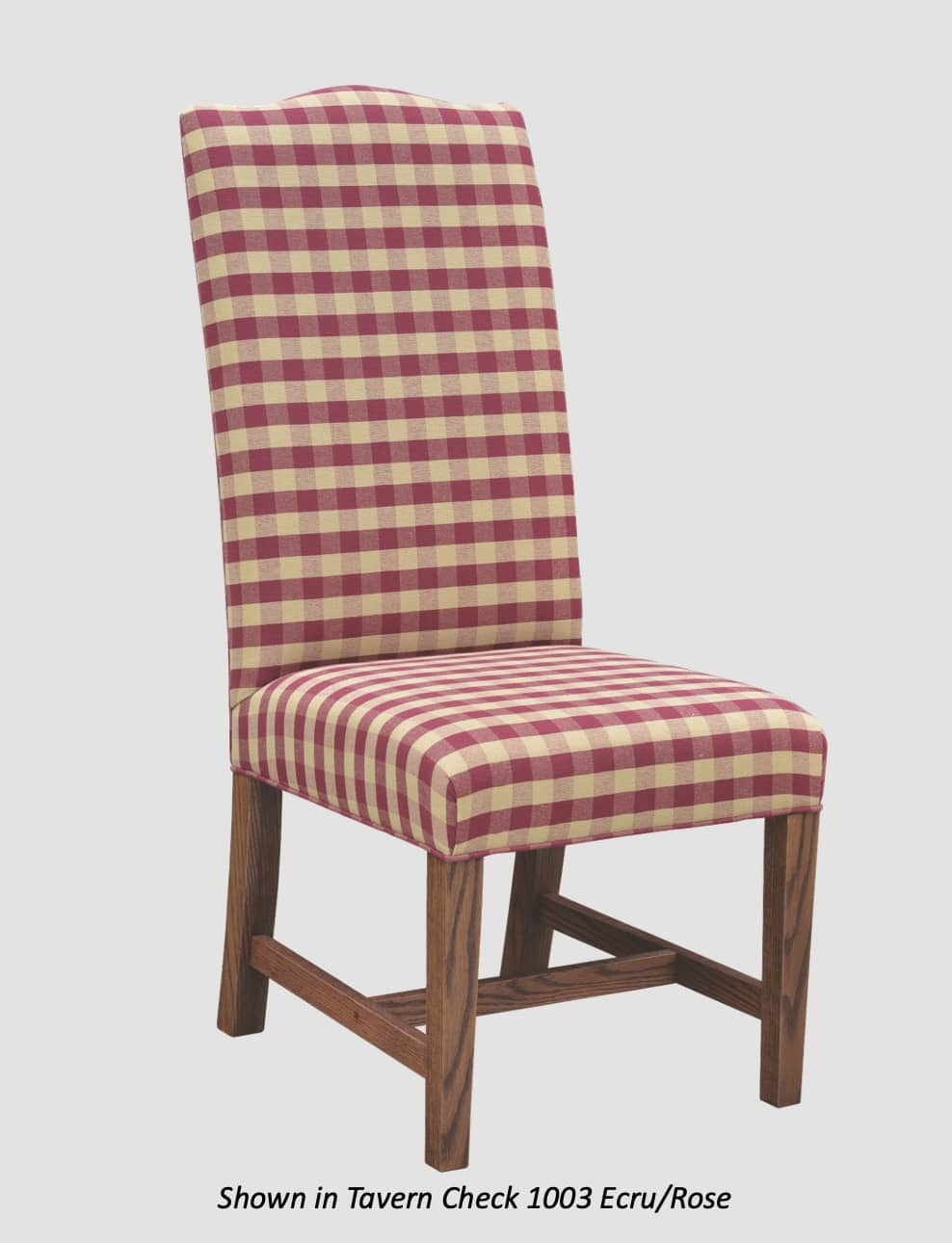 Town & Country Furnishings Lincoln Dining Chair - High Back/Crown Top from the American Country Collection