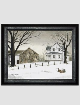 Billy Jacobs Home For Christmas Print by Billy Jacobs