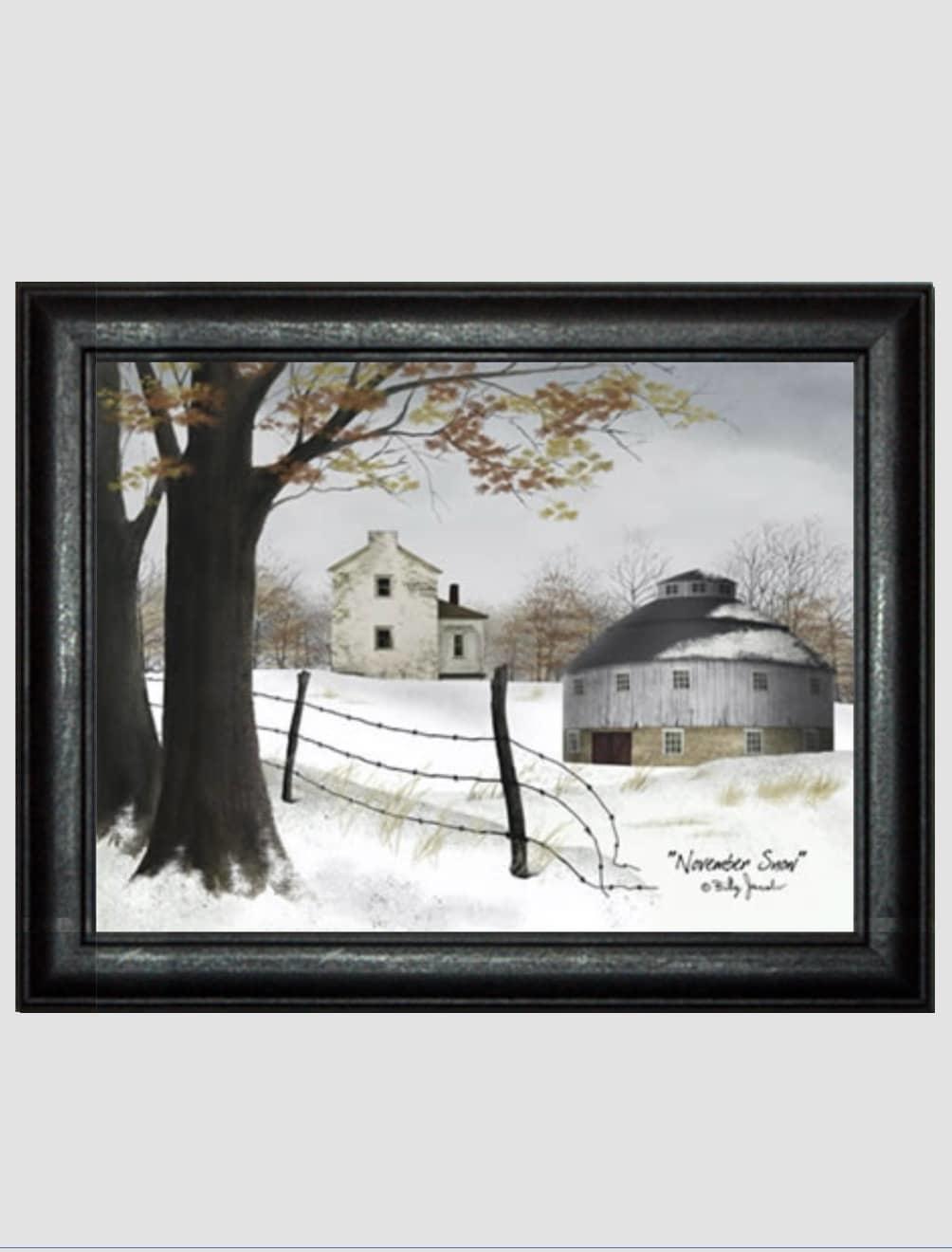 Billy Jacobs November Snow Print by Billy Jacobs