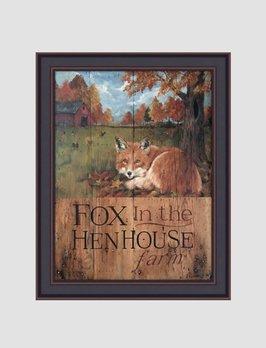 Terri Palmer Fox In the Hen House by Terri Palmer