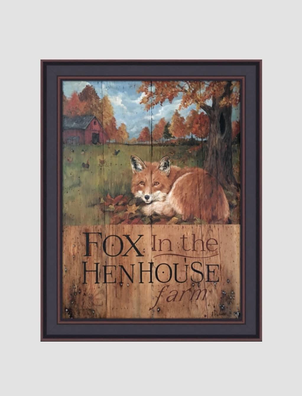 "Terri Palmer Fox In the Hen House by Terri Palmer - 18"" x 24"""