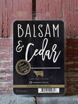 Milkhouse Candles Balsam & Cedar Melts 5.5oz Milkhouse