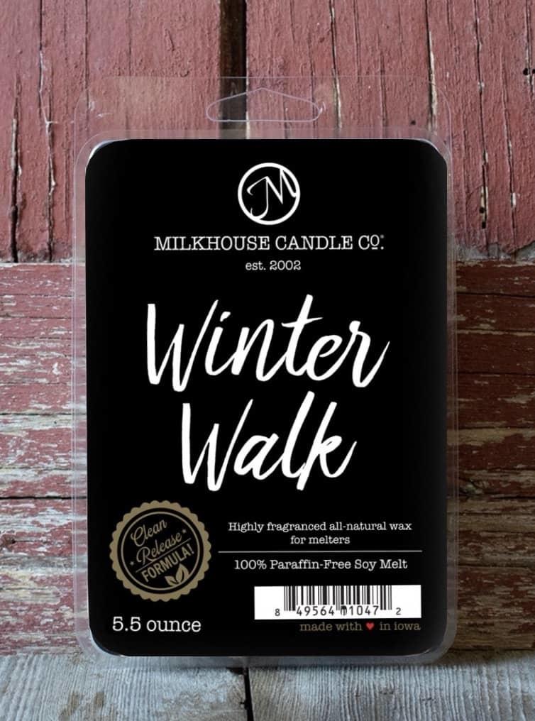 Milkhouse Candles Milkhouse Melts Winter Walk 5.5oz