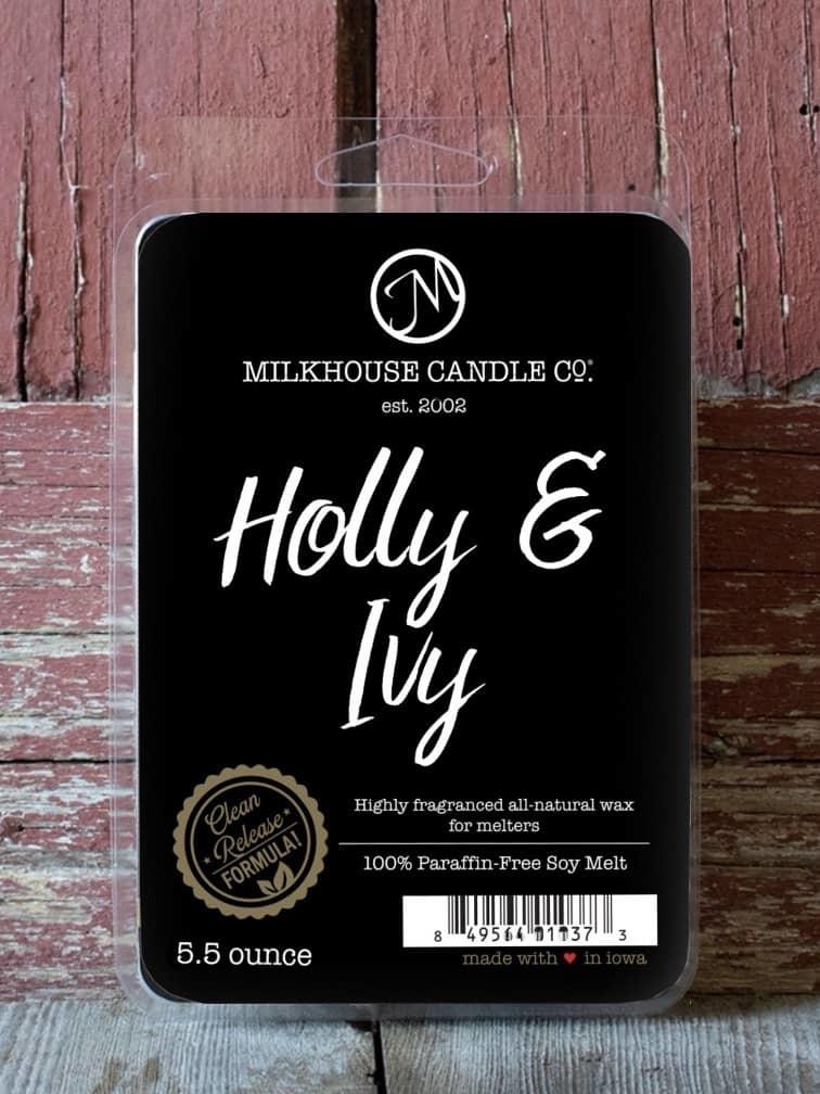 Milkhouse Candles Milkhouse Candles Melts Holly & Ivy 5.5oz