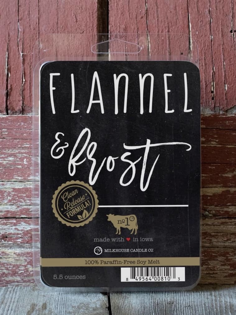 Milkhouse Candles Milkhouse Melts Flannel & Frost 5.5oz
