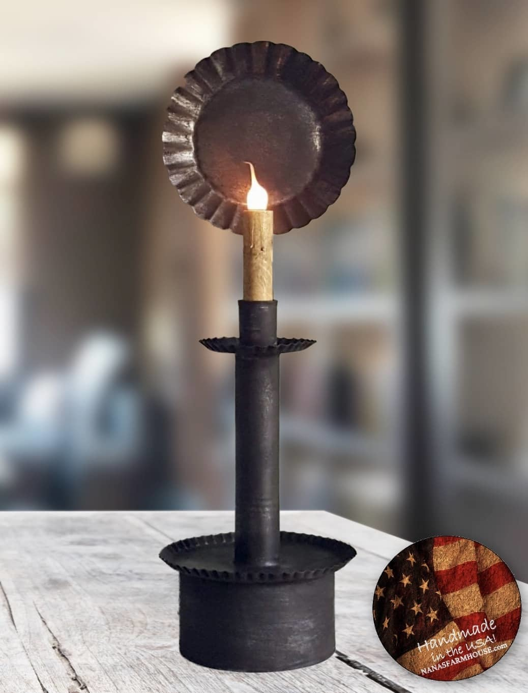 "Nana's Farmhouse Bridgewater Table Lamp - 17"" T"