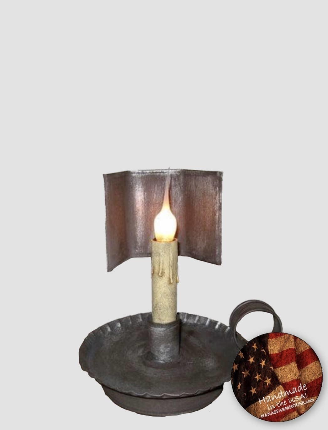 "Nana's Farmhouse Prairie Trapezoid Lamp - 8"" T"