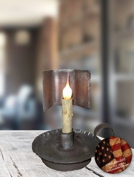 Nana's Farmhouse Prairie Trapezoid Lamp