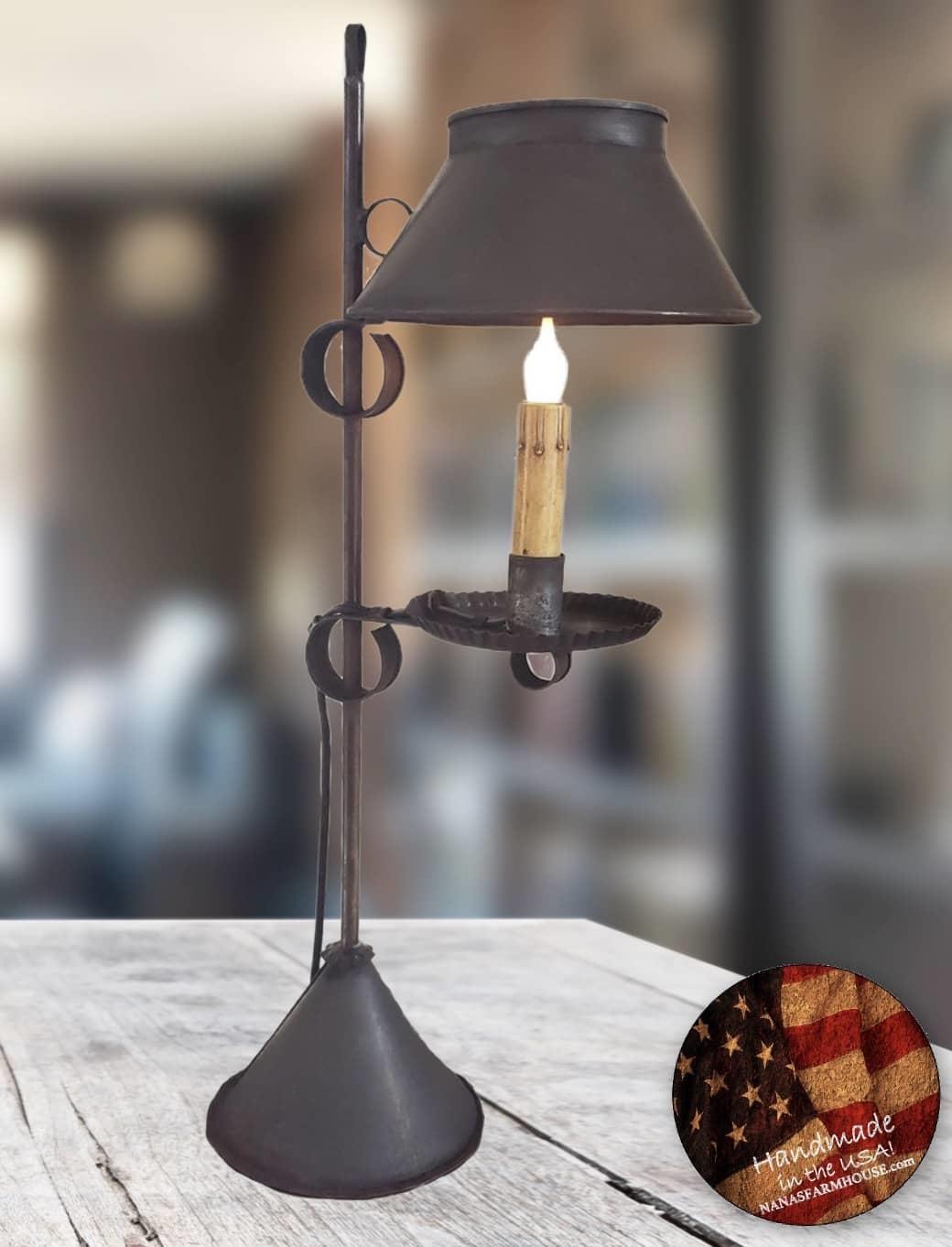 "Nana's Farmhouse Meriden Table Lamp - 26"" T"