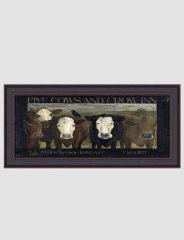 Terri Palmer Five Cows Print by Terri Palmer
